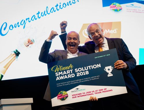 Swymed | Winner of the Smart Solutions Award 2018!