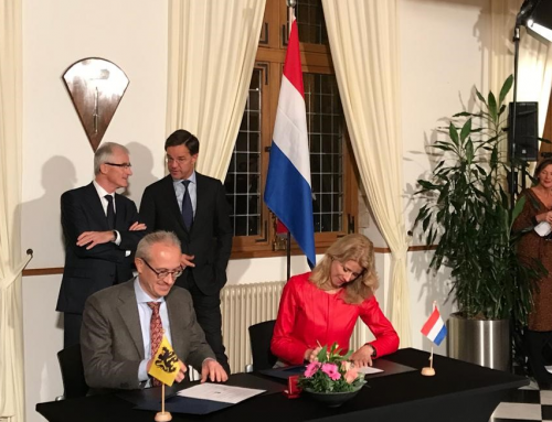 Flanders & the Netherlands sign MoU on enhanced cooperation in the field of personalised medicine